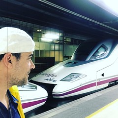 "Last High speed train for now. Ave trains rock!! @renfe #renfeave @renfe_ave ""I'm still standing"" Elton John video shot here in Cannes.I was here with J-R in 1990. https://youtu.be/ZHwVBirqD2s I'm bringing Mystical Traveler and The love of master to Canne (jrintegrity924) Tags: johnroger msia jsu garcia integrity spiritual teacher israel jerusalem love light spirit god jesus"