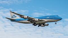 PH-BFV  Boeing 747-400M - KLM Royal Dutch Airlines (Peter Beljaards) Tags: phbfv boeing747400m 747 boeing747 klmroyaldutchairlines klm cityofvancouver vancouver ams eham final landing