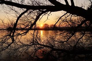 Sunset in Rade