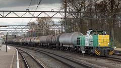 LTE 6336 awaiting it's departure (Nicky Boogaard) Tags: lte6336 lte vossloh 1206 gascar dmrailway dmrailroad railroad railway dordrechtstation 1275 loksauskiel