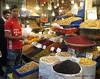 Spices, Dried Fruit & Nut Stall - Grand Bazaar - Tehran Iran (WanderingPhotosPJB) Tags: iran tehran grandbazaar market fruit nuts islamicrepublic islam