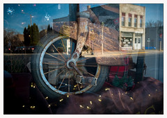 window abstract (Rick Olsen) Tags: window reflection display glass