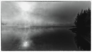 Sept jours, sept photos en noir et blanc représentant ma vie