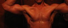 BIG BULGING BICEPS (flexrogers963) Tags: biceps bicep pecs vein lats muscle muscular flex flexing huge big massive ripped workout fit exercise jacked musclemodel chest abs traps bodybuilder bodybuilding rockhard veins pose frontalpose bizeps muscles mondo bodybuild bodyboulder fitness gym hugebiceps gross
