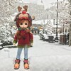 New York City with my girl. Central Park was really beautiful and I really with I could have explored even more of it. So grateful for our long stay in NYC! (margiej11) Tags: holiday holidays snow newyorkcity mudoll bjd centralpark nyc tavernonthegreen