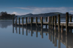 Lake District UK (mynameisblank!) Tags: lakedistrict lake clouds longexposure nikon nikond300s nature watersky jetty wood pier reflection 70200 f28 nikond3oos travel alwaysmoving lightroom editedinlightroom manfrotto manfrottotripod manfrottobefree