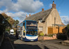Sunday service (DH73.) Tags: stagecoach midlands enviro 400 15447 mx08ghn moulton chater street