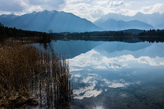Water Clouds (*Capture the Moment*) Tags: 2017 barmsee bavaria bayern berge clouds deutschland elemente germany himmel lake lakebarmsee landschaften mountains reflection reflections reflexion see sigma1181835mmart sky sonya77 sonyalpha77 spiegelung wasser water wetter wolken cloudy wolkig