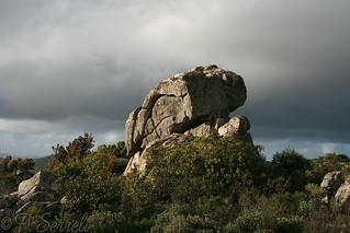 Sculture a Mont' 'e Cresia (Sinnai)