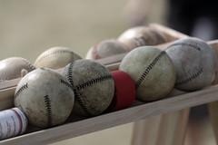 Vintage Baseball, Cantigny Park. 32x (EOS) (Mega-Magpie) Tags: canon eos 60d cantigny park wheaton il illinois dupage usa america vintage baseball balls