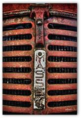 Un mythe (marc.lacampagne) Tags: canon tamron dof closeup 28 ngc rouille rust old agé abandonné vieux tracteur dslr eos decay