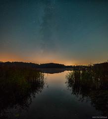 November Milkyway (Piotr Potepa) Tags: nightscape nightscapes night nightsky sky milkyway landscape poland torun lake