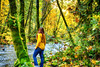 Blending in with the Trees (flashfix) Tags: october242017 2017inphotos victoria bc britishcolumbia canada nikond7100 nikon goldstreampark nature leaves moss sunlight forest bokeh yellow green branches woods 28mm landscape river trees flashfix flashfixphotography portrait selfportrait