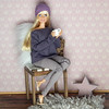 Happy Thanksgiving to all of you! (Levitation_inc.) Tags: fashion doll dolls barbie m2m ooak handmade levitation made move happy thanksgiving 2017 display diorama room wooden chair winter sweater weather cozy hygge