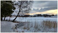 Motorola November (Krogen) Tags: norge norway norwegen akershus romerike ullensaker nordbytjernet krogen motorolag5plus smartphone hdr november landscape landskap