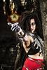 Arcana - Bokor (2) (FightGuy Photography) Tags: arcana samanthakane voodoo bokor magic spell spellcasting skirt necklace biracialmodel flame facepaint fightguyphotography bodypaint sami strobist