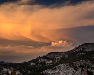 Sunset Outburst, Yosemite National Park_
