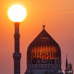 Yenidze Dresden (funtor) Tags: sonnenaufuntergang dresden sachsen germany sunset sun light city building color architecture