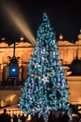 The Christmas tree (Vagelis Pikoulas) Tags: krakow tree christmas bokeh canon 6d tamron 70200mm vc night shooting poland november 2017 autumn