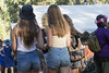 Long hair (yowser85) Tags: festivals girl woman maidens cuttoffs jeans
