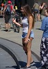 Out And About (swong95765) Tags: ladies females pretty cute shorts citypark smile