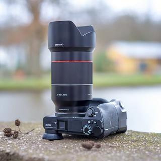 Samyang FE 35mm ƒ/1.4 AF on SONY a6500 seen by Samyang FE 50mm ƒ/1.4 AF on SONY a7II :-)