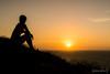 Contemplação (Jaime Sales) Tags: pordosol sunset jeri jericoacoara trilha pedra furada brasil brazil ceará nordeste sol sun montanha montain girl contraluz silhueta canon g7x markii paisagem landscape
