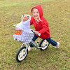 1145 (StriderBikes) Tags: 12 2017 basket costume et excited girl grass halloween jeans longhair october photocontestentry pro redhoodie reeses silver smile striding