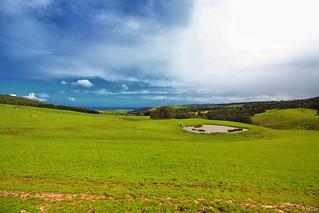 Beautiful scenery on Great Ocean Road