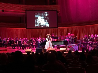Performance tribute to Ella Fitzgerald one hundredth birthday at the Knight Concert Hall