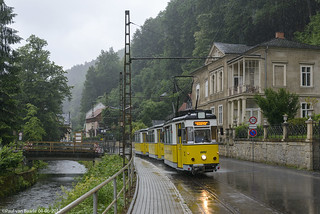 Bad Schandau 3+24+25 Kirnitzschtalbahn 4-6-2017