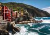 Riomaggiore explored (wiwenir) Tags: 2017 italien ligurien riomaggiore hafen sturm
