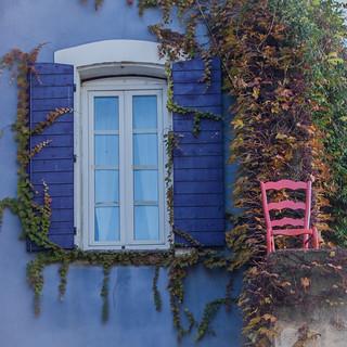 la chaise rose