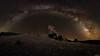Alone under the stars (Andrés Domínguez Rituerto) Tags: europa europe españa spain castillalamancha guadalajara castillodezafra castillo castle noche night nocturna nocturne fotografíanocturna nightphotography nightscape nightshot víaláctea milkyway estrellas stars cielo sky largaexposición longexposure naturaleza nature paisaje landscape panorámica panorama zafra juegodetronos