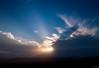 Sun setting over Kingscliff (blinsaff) Tags: drone beach kingscliff fingal head mavic ocean waves water blue cliffs aerial