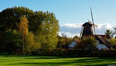 Landscape With Mill (JaapCom) Tags: jaapcom landscape landed landschaft trees clouds holland dutchnetherlands wapenveld vlijt historisch mill moulin molen molino mühle