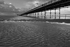 A cold and windy day at the pier (paul_taberner_photography) Tags: southportpier blackwhite blackandwhite