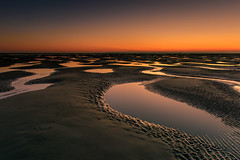 Pools Of Colour (Sunset Snapper) Tags: poolsofcolour sunset eastwinnersandbank haylingisland hampshire southcoast lowtide sand pools reflections afterglow filter lee nd grad nikon d810 2470mm tranquil peaceful anotherworld december 2016 sunsetsnapper