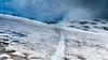 Der lange Weg über den Gletscher (Bernd Edelmann) Tags: gletscher bergtour hochtour wandern bergsteigen schweiz frankreich hauteroute