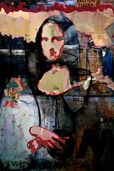 Mona Lisa #3 (moan.lisa@ymail.com) Tags: abstract art asemic asemicwriting collage digitalcollage moanlisa monalisa painting poetry vispo visualpoetry