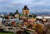 Chateau Frontenac & Terrace Dufferin from the Citadel (vern Ri) Tags: 2017 fujixt20 november quebeccity oldtown chateau chateaufrontenac
