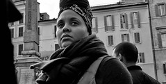 You can get addicted to a certain kind of sadness... (Baz 120) Tags: candid candidstreet candidportrait city candidface candidphotography contrast street streetphoto streetcandid streetphotography streetportrait rome roma romepeople em5 europe women mft m43 mono monochrome monotone blackandwhite bw urban voightlander12mmasph life primelens portrait people unposed omd olympus italy italia girl grittystreetphotography faces decisivemoment strangers