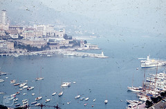 Monaco harbour and Royal Yacht