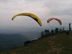 Sarangkot (Aleksandr Zykov) Tags: nepal sarangkot pokhara paragliding