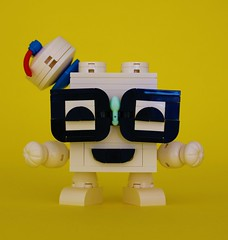 Nerdly Puft (simplybrickingit) Tags: moc brick nerdly lego fun toy model bricknerd 2017 uk bricks ghostbusters 1980s 80s movie stay puft nerdvember