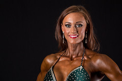 Hot Female Fitness Contestant (Rick Drew - 19 million views!) Tags: fitness workout model heels bikini pose posing posed rip ripped healthy fit