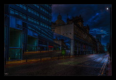 Isn't Life Strange (Kev Walker ¦ 7 Million Views..Thank You) Tags: architecture building buses canon1855mm citycentre england hdr lancashire manchester northwest outdoor photoborder postprocessing