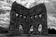 """Temple of Janus"" (Eric@focus) Tags: noiretblanc temple blackwhitephotos janus autun france sanctuary cella vestiges monument historical deity greatphotographers"