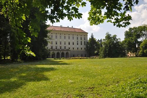 Kroměříž, Landschaftsgarten des Schlosses