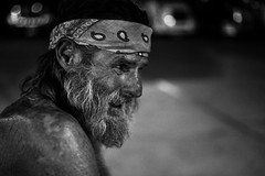 I have, or had a name. I had a life. Nobody sees me now... I think I'm becoming invisible. I try not to see people either... I think it hurts. (Alvin Harp) Tags: homeless humanity bwportrait september 2015 sonyilce7rm2 fe35mmf14za blackandwhite monochrome portrait thousandpalms california truckstop james alvinharp